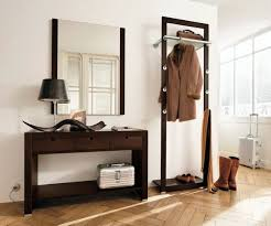 Hallway Furniture Coat Rack Creative Hallway Furniture Mirror Coat Rack And Small Desk 4