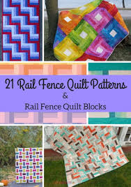 21 Rail Fence Quilt Patterns & Rail Fence Quilt Blocks ... & 21 Rail Fence Quilt Patterns & Rail Fence Quilt Blocks | FaveQuilts.com Adamdwight.com