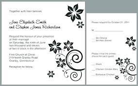 Invitations Cards Templates Free Printable Wedding Invitation
