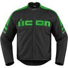 icon motorhead 2 jacket black green
