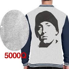 Asfsdgsdg King Of Hip Hop Eminem Unisex Baseball Jacket