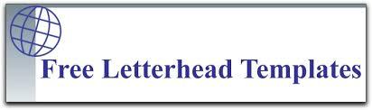 Free Printable Business Letterhead Templates More Than 65 Free Letterhead Templates That You Can Download