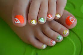 Abstract Toe Nail Art Design, Abstract Toe Nail Art Design ...