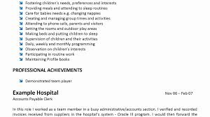 Cover Letter For Child Care Assistant Director With No Experience