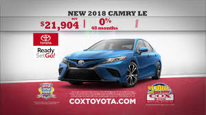 Cox Toyota March 2018 Deals #2 - YouTube