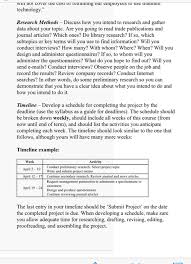 Memo Proposal Format Research Project Proposal Memo Requirements The Me