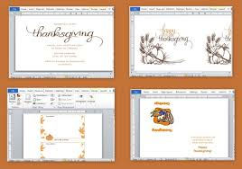 Ms Office Word Template Best Thanksgiving Templates For Microsoft Word