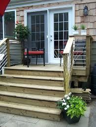 image result for floor sliding glass doors small deck tint my door