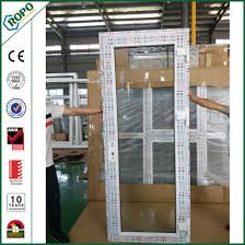 single patio door. PVC Plastic French Single Panel Inward Opening Casement Patio Door