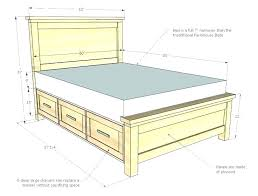 Twin Xl Bed Frame With Drawers Bedding Twin Bed Frame With Drawers ...