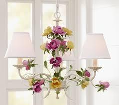 hailey antique flower chandelier