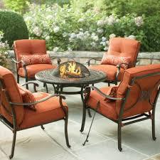 innovative martha stewart patio furniture cushions backyard decor ideas martha stewart living cold spring 5 piece patio fire pit set with