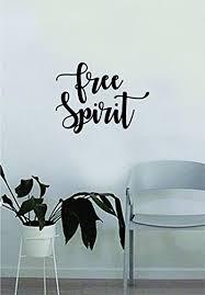 free spirit smaller version e wall decal sticker bedroom living room vinyl art home sticker decoration