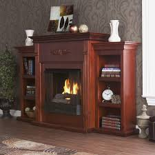 fireplace mantel with shelves on side good home design modern under design ideas