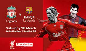 The only place to visit for all your lfc news, videos, history and match information. Lfc Legends To Face Barca Legends In Official Charity Match At Anfield Liverpool Fc