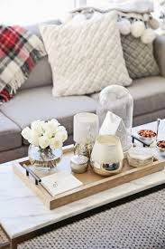 Decorative Trays For Living Room Amusing Light Brown Rectangle Simple Wood Decorative Trays For 24
