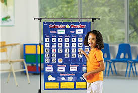 Calendar And Weather Pocket Chart Learning Resources Calendar Weather Pocket Chart Classroom Organization 136 Piece