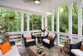 Covered porch furniture Screen Porch Get Overstockcom Screen Rooms Augusta Southern Industries