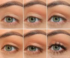 make sure you curl your eye lashes first then go for your favourite formula of mascara
