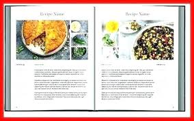 Publisher Cookbook Template Microsoft Recipe Book Template