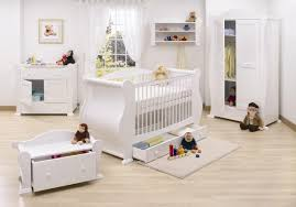 baby furniture images. Futuristic Nursery Decoration With White Wall Harp Shaped Bedding Crib And Storage Furniture Baby Images
