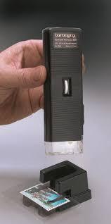 Lumagny Lighted Microscope Illuminated Pocket Microscope 30x