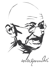Image result for role of Gandhiji in students life vector