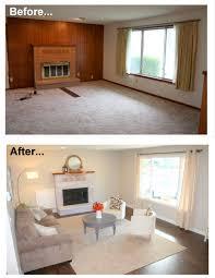 Wood Paneling Living Room Decorating Diy Home Repair Hack Easily Paint Over Wood Paneling