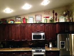 top of kitchen cabinet decor top of kitchen cabinet decor catchy decorating ideas for above kitchen