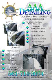 aaa detailing flyer not fade away marketing