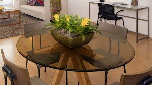 custom glass table top home design planning of charming clear colored round glass table tops round