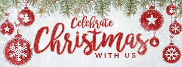 Celebrate Banner Celebrate Christmas Red 3x8