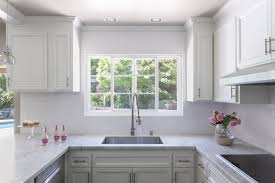 Contemporary Style Kitchen Cabinets Amazing A Clean Bright Makeover For A Tired Kitchen
