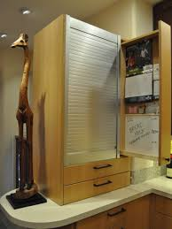 Kitchen Message Center Photos Hgtv Hidden Kitchen Message Center With Pullout Cabinet