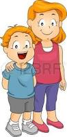 Resultado de imagen de hermana mayor y hermano pequeño