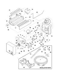 Frigidaire dishwasher parts diagram frigidaire refrigerator parts model frs26kr4cq1 of frigidaire dishwasher parts diagram kenmore elite