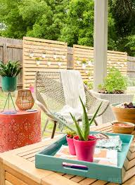 Outdoor patio ideas Small So Any Of You Who Have Read Our Blogs For Awhile Probably Know That emily Henderson Is One Of My Fav Hgtv Hosts Her Style Is Perfection Thebigbreakco 15 Amazing Outdoor Patio Ideas The Garden Glove