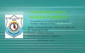 UNIDAD EDUCATIVA ALBERTO ENRIQUEZ by Andrea Condor