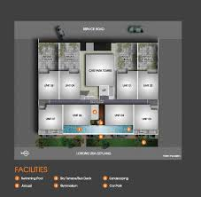 centra suites site map