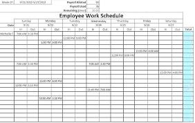 Blank Schedule Top 4 Day Work Week Calendar Template Free Printable Weekly