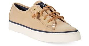 lyst sperry top sider sperry women s seacoast canvas sneakers in sperry