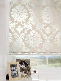 Patterned Blinds For Kitchen Make A No Sew Fabric Covered Roller Shade The Diy Mommy Patterned