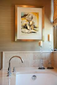 decorate your bathroom walls with trendy artwork from bathroom bliss by rotator rod