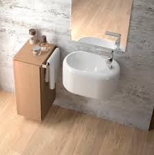 wall mounted washbasin oval porcelain contemporary