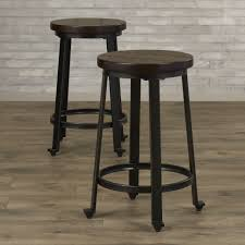white backless bar stools. Interior Black Backless Swivel Barools Counterool Inch Round Height Counter Stools White Bar L