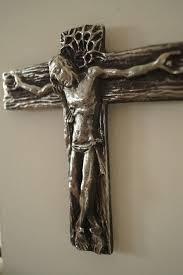 Wall cross Powerful Crucifixion of <b>Jesus Christ Christianity</b>. Material ...