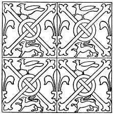 Medieval Design Patterns Medieval Tile Pattern Stained Glass Patterns Medieval
