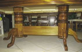 Two Pedestal Dining Table How To Build A Double Pedestal Table Osborne Wood Videos