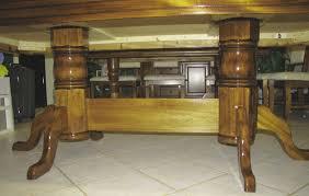 building a double pedestal table double pedestal