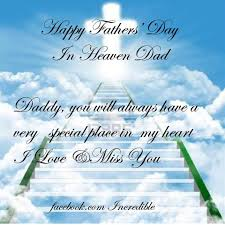Happy Fayhers Day From Me To Heaven Happy Fathers Day Dad Cards